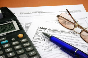 Tax forms preparation